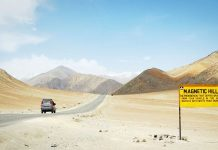 Magnetic Hill of Leh Ladakh
