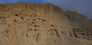 Mustang Caves of nepal