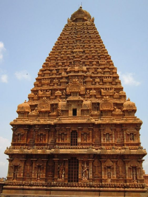 Temple Of Tanjore in India,
