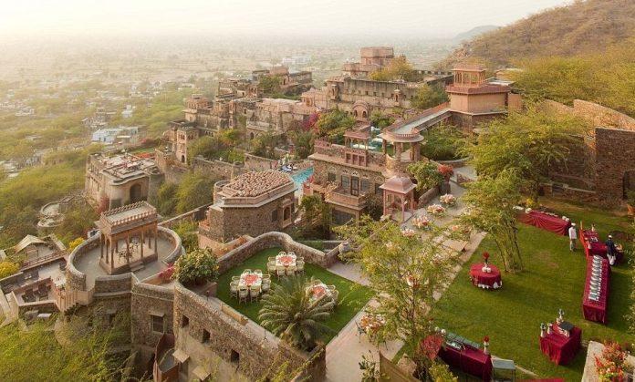 Neemrana Frot Palace of Rajasthan