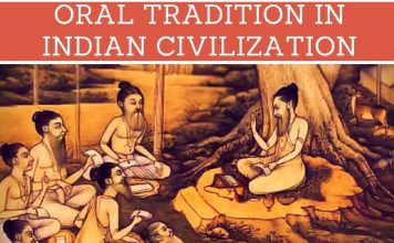 ORAL TRADITION IN INDIAN CIVILIZATION