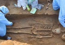 four Human Skeletons found in Rakhigarhi, Harappan site in Haryana