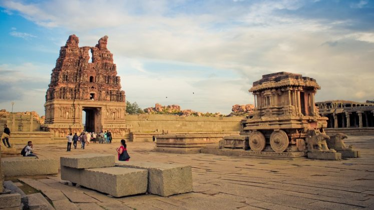 Most beautiful Picture of Hampi, Capital of Vijaynagara Empire.