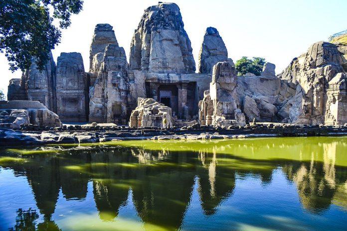 Masroor Rockcut Temple